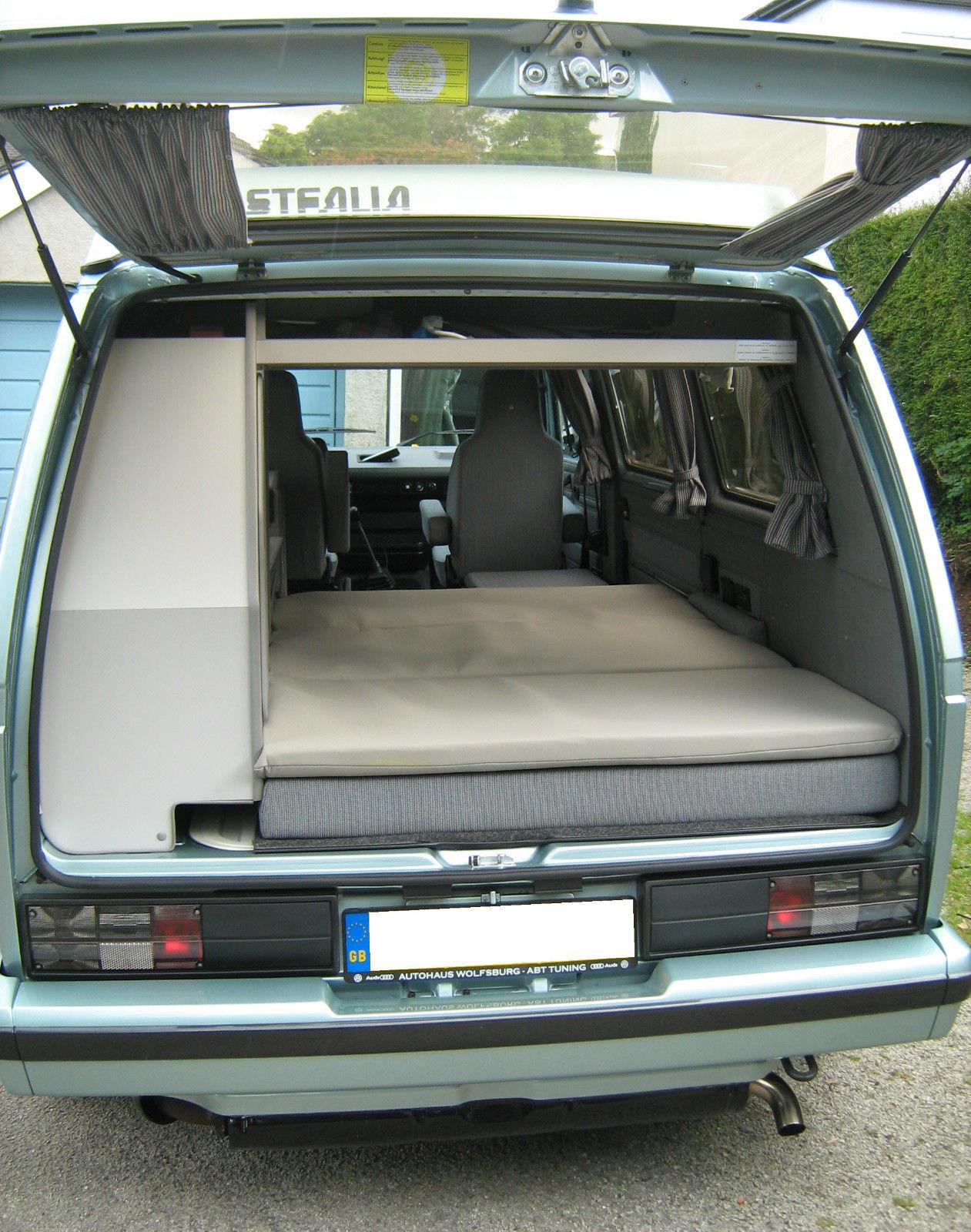 Vw T25 California Memory Foam Westfalia Joker Matratze Topper T3 Campervan Ebay