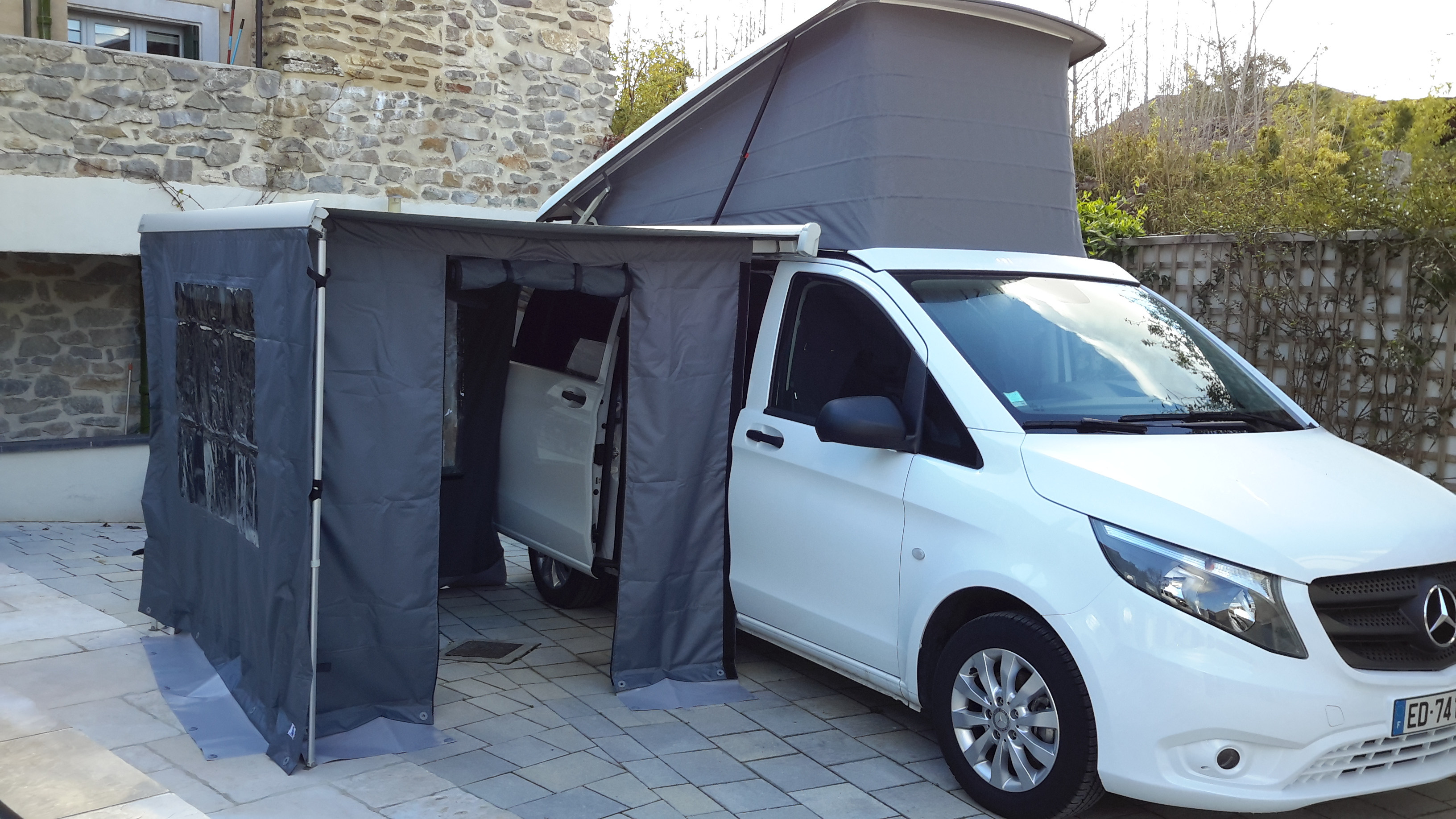 few awning we pin traveled in the our made van last awnings as years sprinter mercedes ve