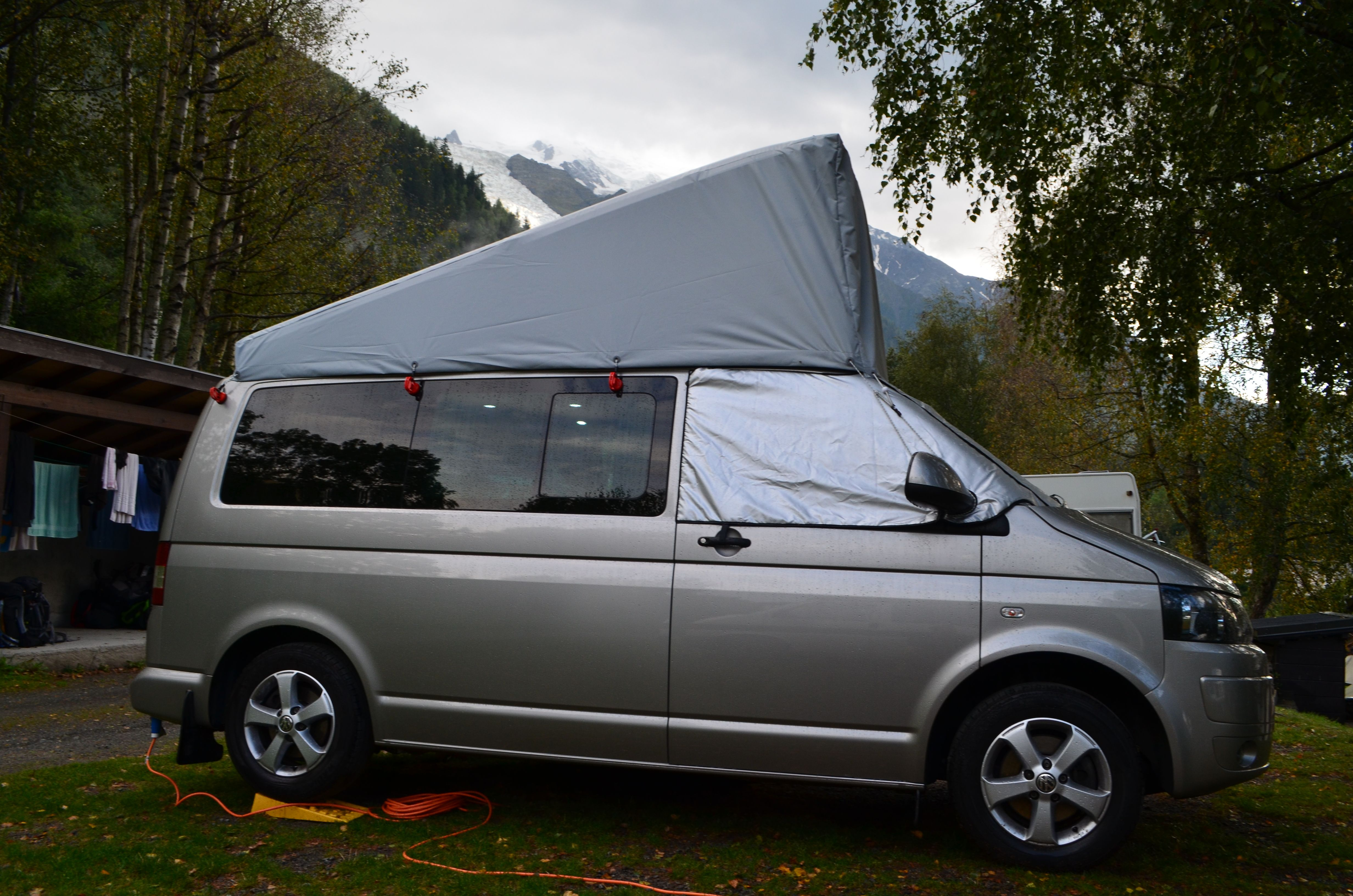 Reimo Topper Vw T5 Swb Uk Pop Top External Roof Cover Transporter T4 Fuse Box For Sale 2